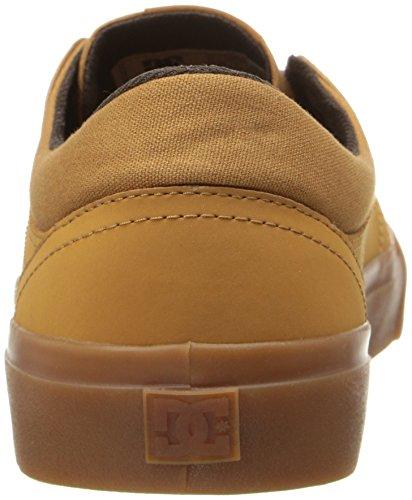 DC Herren Trase Nu Skate-Schuhe Wheat/Dk Chocolate