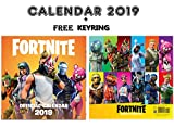 Calendario oficial de Fortnite 2019 + llavero...