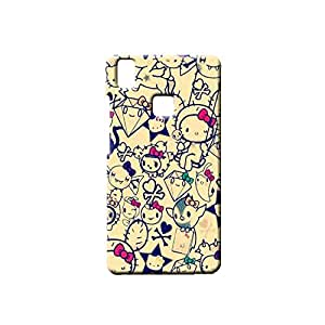 G-STAR Designer Printed Back case cover for VIVO V3 - G2241