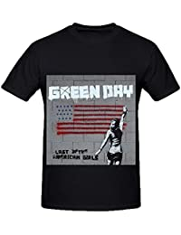 Green Day Last Of The American Girls Rock Mens Crew Neck 100 Cotton Tee Shirts XXXX-L