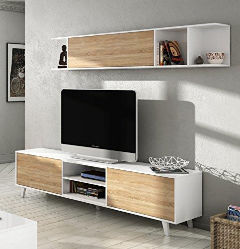 Habitdesign 0f6634bo   mueble de salón comedor, módulo tv   ...