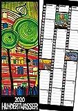 Hundertwasser Streifenkalender Art 2020