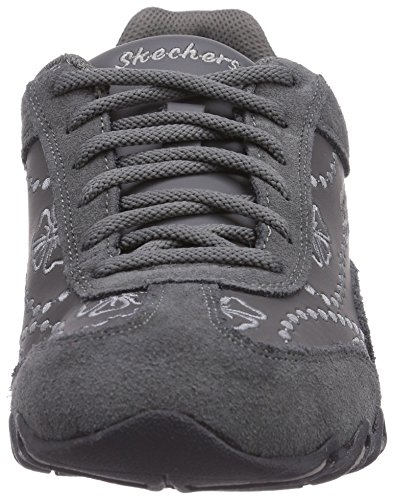 Skechers Speedsters, Low-Top Sneaker donna Grigio (CHAR)