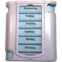 7 Tage Pillenbox Deluxe herausziehbar Medikamentenbox Tablettenbox Pillendose preisvergleich bei billige-tabletten.eu