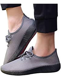 MEIbax Sneakers Traspirante Uomo Lace-Up Sneakers Running Antiscivolo  Sportive Scarpe da Ginnastica… 77ce9f34278