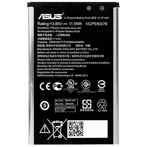 Batterie d'origine constructeur Asus Zenfone Selfie ZD551KL/ZenFone 2Laser 5.5ZE550KL/ZenFone 2Laser 5.5Ze551kl/ZenFone 2Laser 6.0Bulk c11p1501