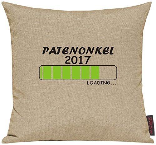 Kissenhülle für Auserwählte! Sofakissen Loading PATENONKEL 2017, Farbe beige