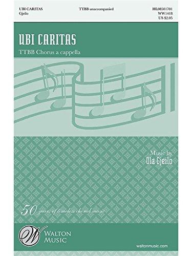 Ubi Caritas - TTBB a cappella - CHORAL S...