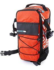 5L multifuncional resistente al agua de bicicleta Rack Pack hombro mochila bolso para al aire libre Ciclismo
