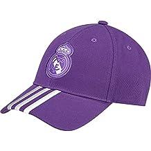 adidas Real Madrid A 3S Gorra, Hombre, Morado (Vioray/Balcri),
