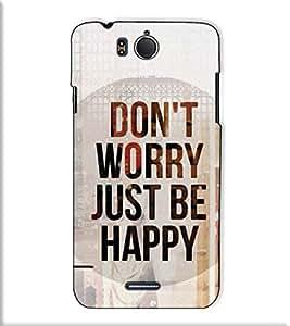 Fuson Designer Back Case Cover for InFocus M530 (Don't Worry Be Happy)