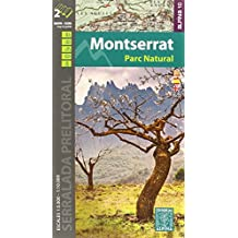 Montserrat Parc Natural, mapa y guía excursionistas. Escala 1:5.000/10.000 cast/cat/eng Alina Editorial