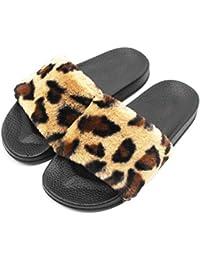XiaoGao la pente du fond en été et épais de 13 centimètres de fausses pantoufles,black