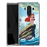 DeinDesign Huawei Mate 10 Pro Silikon Hülle Case Schutzhülle Disney Arielle Die Meerjungfrau Geschenke Merchandise