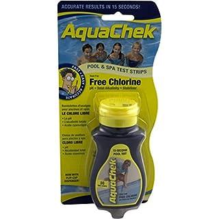 AquaChek Free Chlorine Pool & Spa Test Strips - 50 Strips