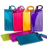 Paquet De 7 Étiquettes De Bagages...