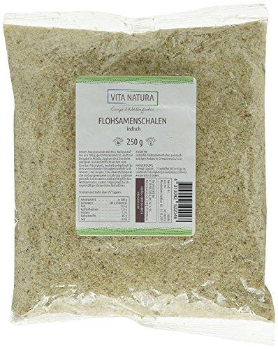 Vita Natura Flohsamenschalen indisch – Spar-Pack 2 x 250 g (500g)