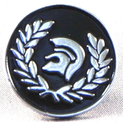 metal-enamel-pin-badge-brooch-mod-scooter-trojan-skinhead-black