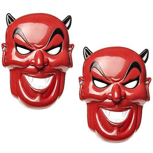 Com-four diverse maschere per adulti per carnevale, halloween o carnevale
