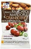 La Finestra Sul Cielo  Snack con Anacardi Mandorle & Cranberries Bio - 10 pezzi