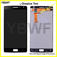 YBWF for Oneplus 2/Oneplus Two LCD Display + Touch Screen Digitizer Assembly + Alloy Steel 5in1 Tools. (Without Frame)