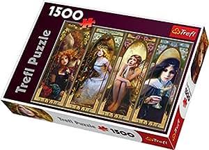 Trefl 26116 - Puzzle, Fantasie Collage, 1500 Teile