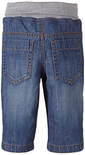 TOM TAILOR Kids Baby - Jungen Jeanshose elastic waistband denim/502, Gr. 86, Blau (super stone blue denim 1094) -
