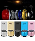 JMD World's Smallest Bluetooth Speaker with Mic, Hands-free voice calling & Selfie Remote Shutter Feature For All Android & Iphone Smartphones