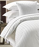 Duvet Cover Set 300 Thread Count White 100% Egyptian cotton Hotel Quality