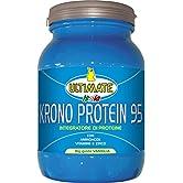 Krono Protein 95-4 Proteine Del Latte, Albume d'Uovo, Proteine Isolate Della Soia - 5 Aminoacidi - Massimo Valore… - 51sHypdx  L. SS166