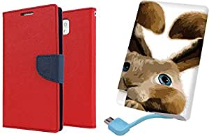 APE Wallet Cover and Printed Power Bank for Motorola Moto G3