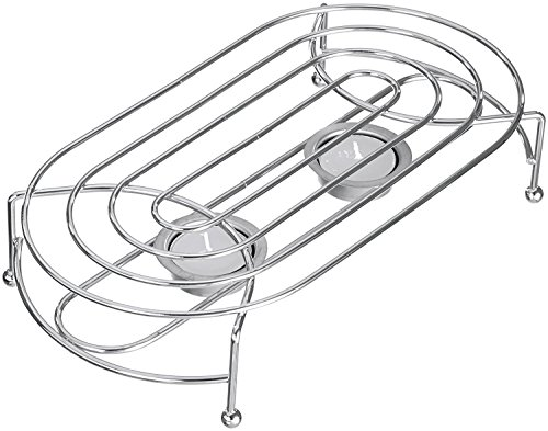 Gluecksshop Warmhalteplatte, Speisenwärmer, Stövchen mit 2 Teekerzen, universell einsetzbar