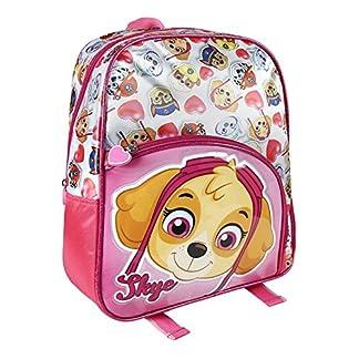 La Patrulla Canina Mochila Infantil Rosa de Skye 28x34x10 cm