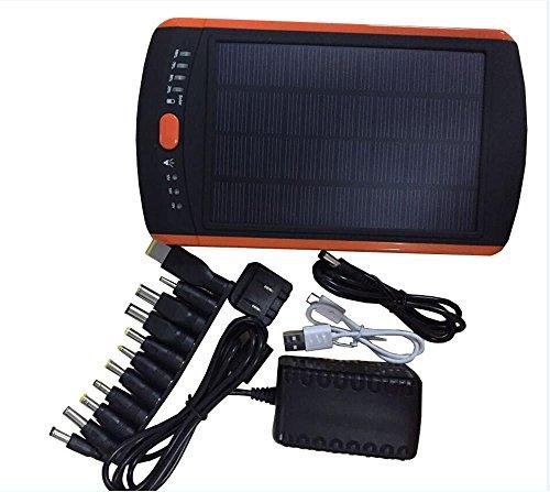 Solar-Ladegerät Power Bank 23000MA Laptop Mobile Power Handy-Ladegerät Po DC Ausgang 12V / 16V / 19V 3A