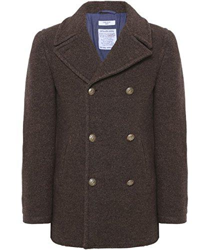Circolo 1901 Uomo Peacoat lana Marrone 50