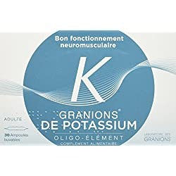 GRANIONS de potassium ampoules - pack de 30