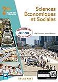 Sciences économiques et sociales SES 2de - Elève