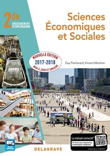 Sciences économiques et sociales SES 2de : Elève