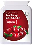 BodySpec Cranberry Capsules 60 x 6,250 mg (250 mg of 25:1 extract)