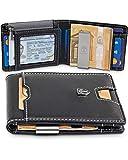 TRAVANDO Geldbeutel mit Geldklammer Dubai Geldbörse Herren klein Slim Wallet Männer Münzfach RFID...