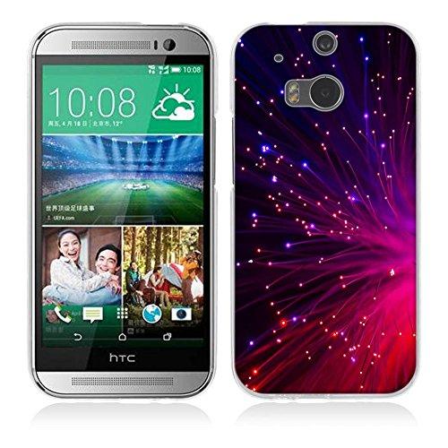 HTC One M8 / M8S Hülle Case, Fubaoda [Funkelnd] Ultra Dünn Handyhülle Cover Soft Premium-TPU Durchsichtige Schutzhülle Backcover Slimcase für HTC One M8 / M8S
