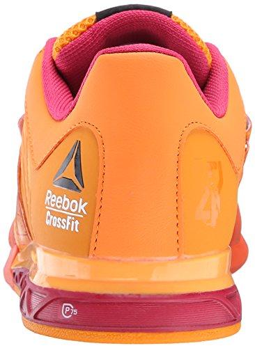 Reebok-Womens-R-Crossfit-Lifter-20-Training-Shoe-Flux-OrangeHazard-OrangeMagenta-PopBlack-95-M-US