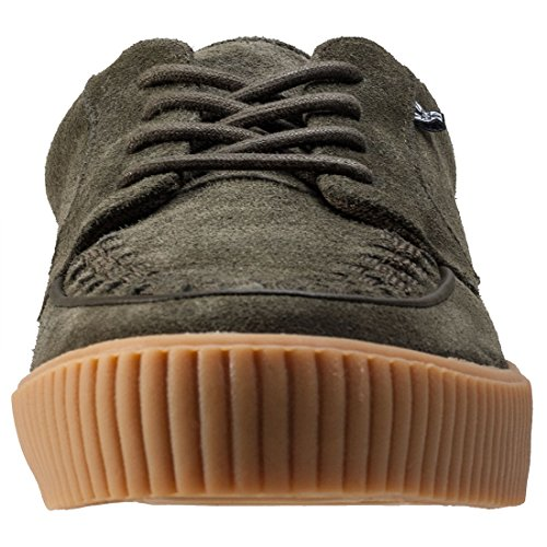 T.U.K Ezc No-ring Creeper Sneaker Hommes Baskets Olive