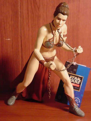 Star Wars Princess Leia as Jabba's Slave 10in Vinal Doll by Applause