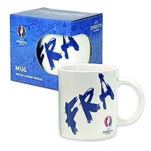 UEFA EURO 2016 – Kaffeetasse Frankreich Logo weiss Kaffeebecher