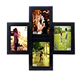 WENS 4-Picture MDF Photo Frame (16 inch ...