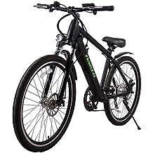 MERRYHE Bicicleta De Montaña Eléctrica 36V 250W Batería De Litio Extraíble E-Bike Citybike Tres
