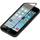 kwmobile Pratique et robuste protection Full Body de TPU silicone pour le Apple iPhone 5C en noir transparent