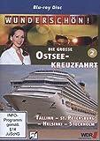 Wunderschön! - Die große Ostseekreuzfahrt (2) - Tallinn - St. Petersburg - Helsinki - Stockholm [Blu-ray]