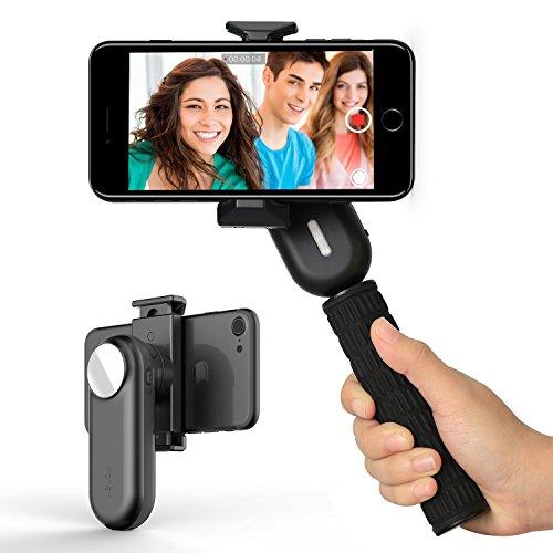 Wewow Fancy Stabilizzatore Portatil Smartphone Gimbal Live Streaming Viaggio Feste Produzione Cinematografica come iPhone 7 7 Plus 6s 6s Plus, SAMSUNG Galaxy S6 S5(Nergo)
